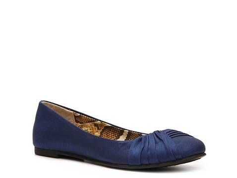 "CL by Laundry ""Great Debate"" flats in 6.5.  Have worn once, but they're in perfect condition."