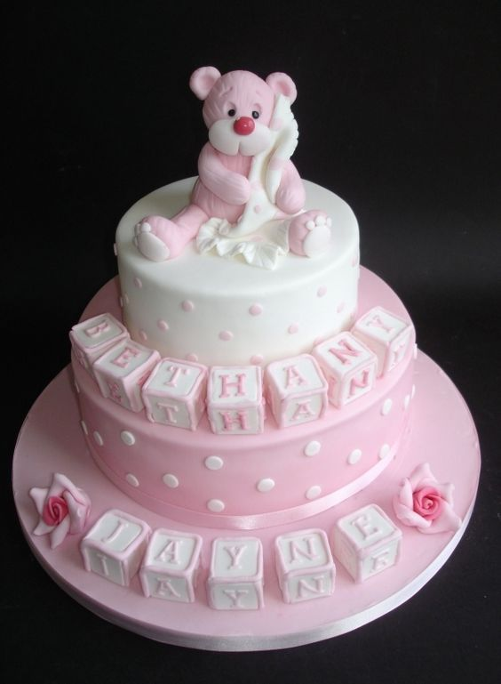 Teddy Bear Christening cake....... http://slimmingtipsblog.com/some-fast-and-easy-tips-for-losing-weight/: