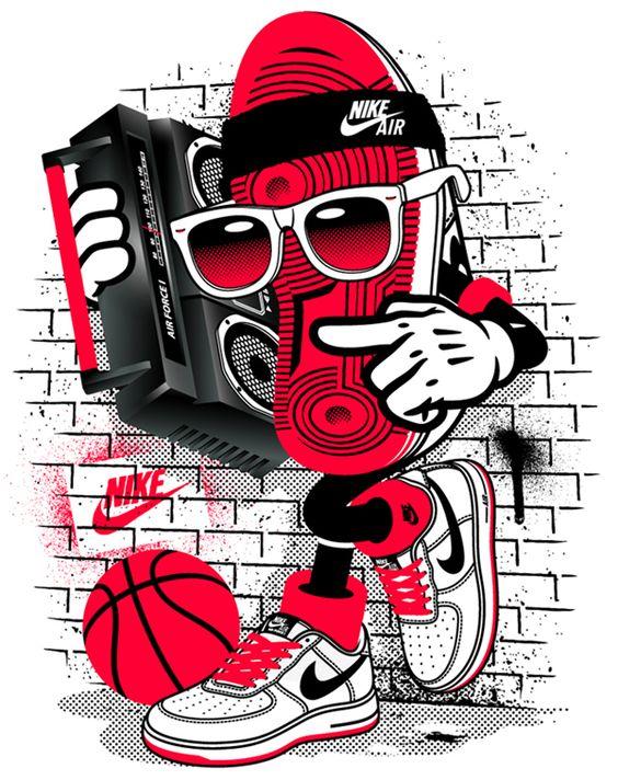 nike dunk exclusivités - NIKE Apparel Design V by SHORT , via Behance | Illustration ...