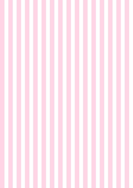 Free printable baby pink-white striped pattern paper ^^