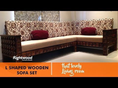 Sofa Set Designs L Shaped Wooden New Design Diamond By Rightwood