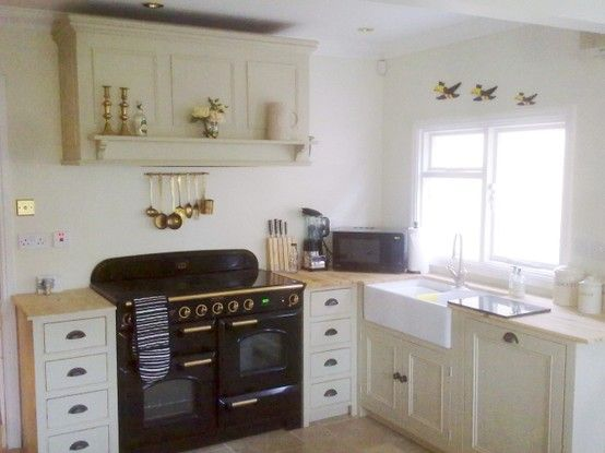 Customers painted kitchen using farrow ball 39 bone for Farrow and ball bone