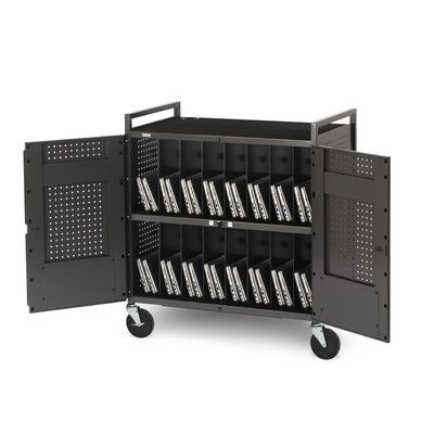 Bretford 32-Compartment Laptop Charging Cart