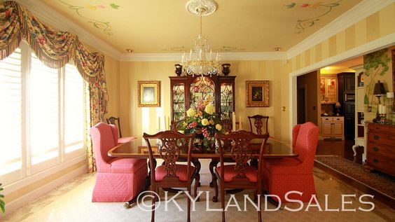 how about this dining room? Lake House on City Lake Campbellsville, KY click for 100+ more images  http://www.kylandsales.com/126CoxCove/KentuckyLakeHouseForSaleCove.html