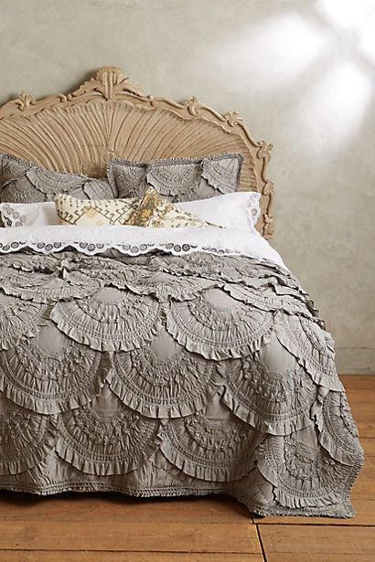 Rivulets quilt grey chip and joanna gaines and - Joanna gaines bedding collection ...