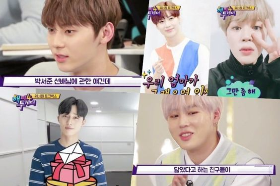 Wanna One's Hwang Min Hyun And Ha Sung Woon Share Stories About Being Mistaken For Park Seo Joon And SHINee's Taemin