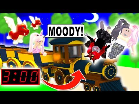 Dont Get On The Ghost Train At 3 Am In Adopt Me Roblox