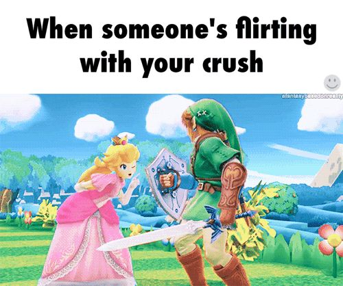 flirting stop crushing someone