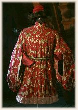 "Renaissance...1440's Italy, Doublet based on the painting ""Adoration of the Magi"" by Domenico Veneziano"