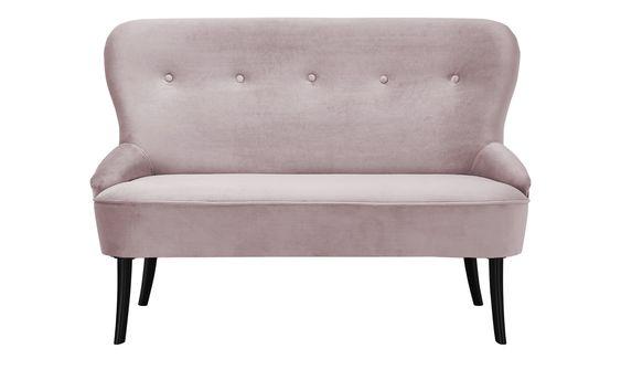 Smart Sofa Renia Rosa Pink Masse Cm B 130 H 89 T 72 Polstermobel Sofas 2 Sitzer Hoffner Mit Bildern Sofa Sofa Mit Bettfunktion Kuchen Sofa