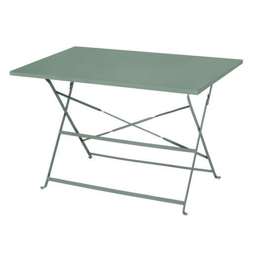Table Diana 110 X 70 Cm Vert Gris Mobilier Jardin Mobilier Table