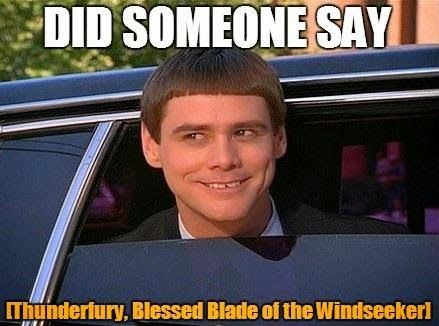 how to get thunderfury blessed blade of the windseeker