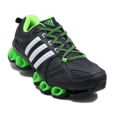 tenis adidas masculino preto verde e branco
