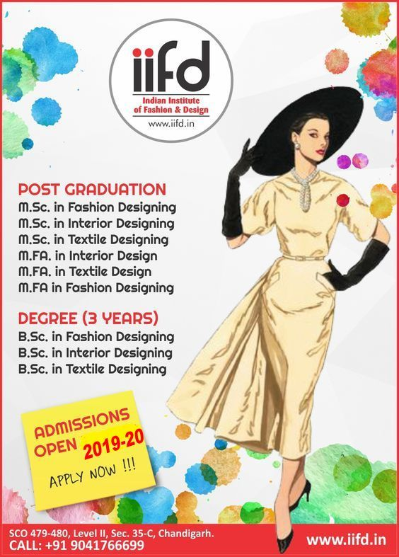 Iifd Fashion Design Courses Institute Fashion Designing Course Fashion Designing Institute Technology Fashion