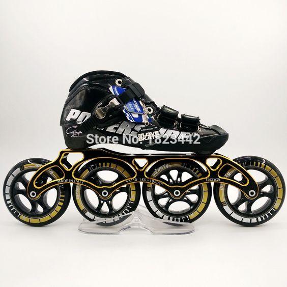 C6 Powerslide zapatos de patinaje en línea profesional de los niños adultos…