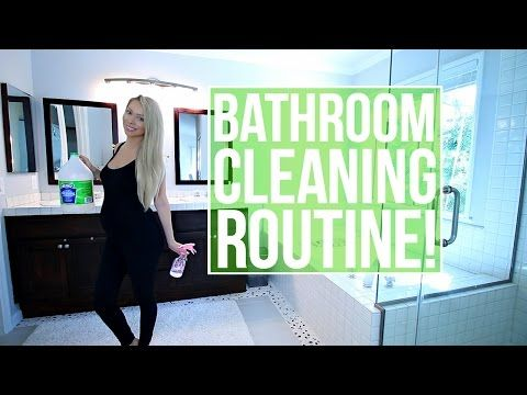 How To Clean Your Bathroom (w/ VasseurBeauty) - My Bathroom Cleaning Routine - YouTube