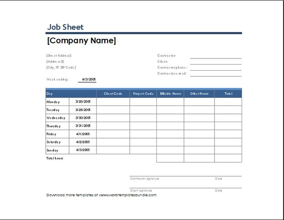 weekly time sheet with task and overtime Microsoft Templates - log in sheet template