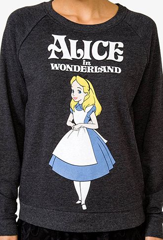 Alice In Wonderland™ Pullover | FOREVER 21 - 2027704242