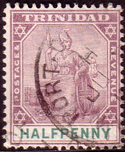 Trinidad 1896 Britania SG 132 Fine Used Scott 74 Other West Indies and British Commonwealth Stamps HERE!