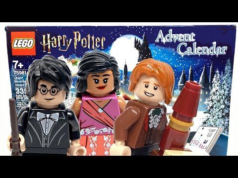 Lego Harry Potter 2020 Advent Calendar Review And Unboxing Youtube Harry Potter Advent Calendar Lego Harry Potter Harry Potter Calendar