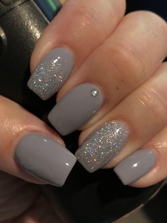 Nail Art Ombre Acrylic Nails Sparkle Nails Gorgeous Nails