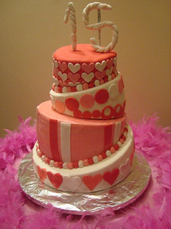 Torta para 15 a os parties weddings eventos cumplea os - Ideas cumpleanos 10 anos ...