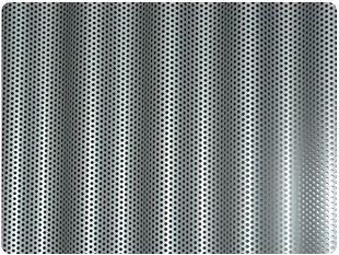 Chapa ondulada microperforada   Alucentro, SA - Materiales, sistemas, productos y soluciones para la envolvente del edificio
