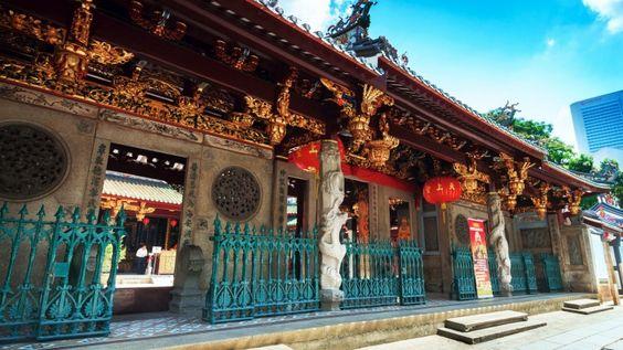 Chùa được xây dựng vào năm 1839