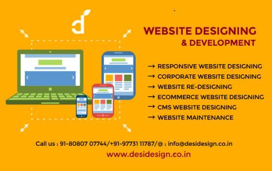 Website Designing & Development: