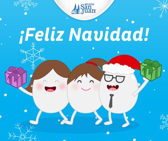 Feliz #Navidad #HuevoSanJuan
