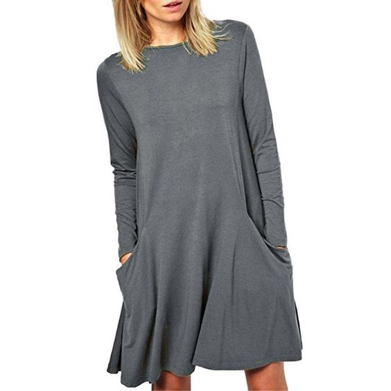 """Sunward(TM) Women Bodycon Short Sleeve Letter Sexy Mini Dress (L, Gray). As these sizes are Asian size, fitting for petite female,it is smaller 1-2 size than the US size, please choose the size careful. Size:S-Bust:80cm/31.5"""",Sleeve:21cm/8.2"""",Waist:66cm/25.9"""",Length:74cm/29.1"""". Size:M-Bust:84cm/33.0"""",Sleeve:21cm/8.2"""",Waist:70cm/27.5"""",Length:75cm/29.5"""". Size:L-Bust:88cm/34.6"""",Sleeve:22cm/8.6"""",Waist:74cm/29.1"""",Length:76cm/29.9""""...."""