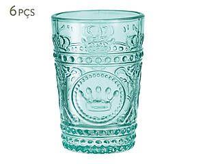 Conjunto de copos topazio - 220ml