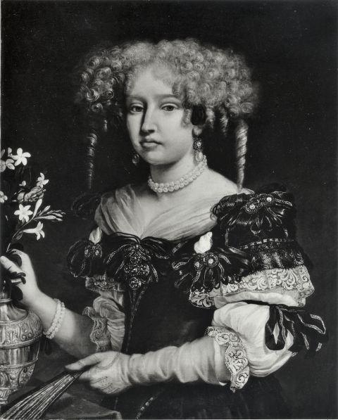 Anonimo , Cittadini Pier Francesco - sec. XVII - Ritratto di gentildonna - insieme