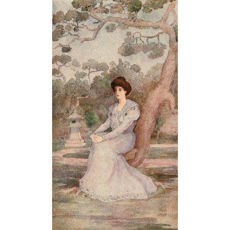 Frontispiece It happened in Japan 1906 Canvas Art - Willard Straight (18 x 24)