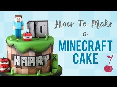 How To Make The Ultimate Light Up Minecraft Birthday Cake