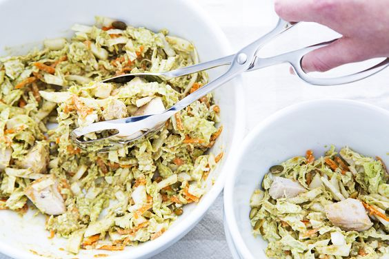 Cabbage Slaw With Orange-Pumpkin Seed Dressing - The Washington Post