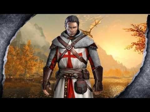 Skyrim Remastered Assassin S Creed Templar 11th Century Armour Mod Showcase Killerkev Youtube 11th Century Assassins Creed Rogue Skyrim