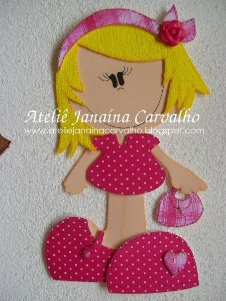 Boneca vestido pink