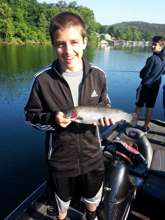 Pinterest the world s catalog of ideas for Lake taneycomo trout fishing