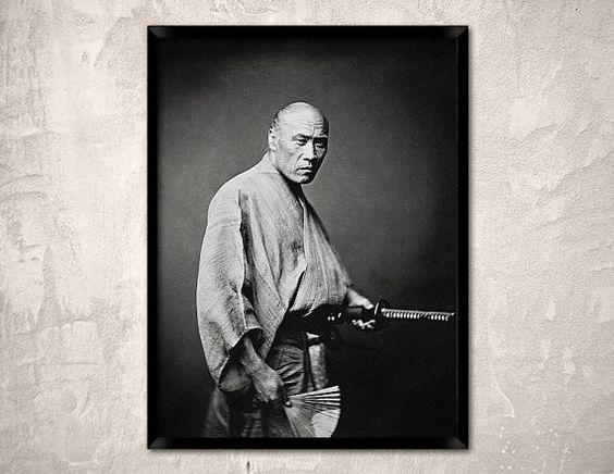 Samurai Yokohama 1865.The last samurai.Sword Katana by Chromatone