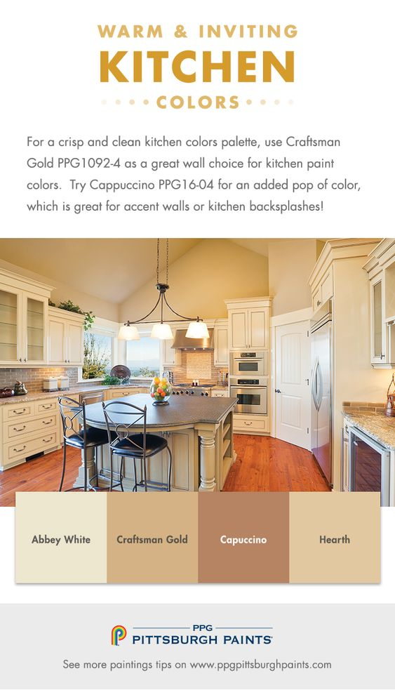 What are the best kitchen colors to use in my home for Colour scheme for kitchen walls