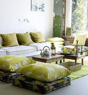 Gorgeous, India style living room