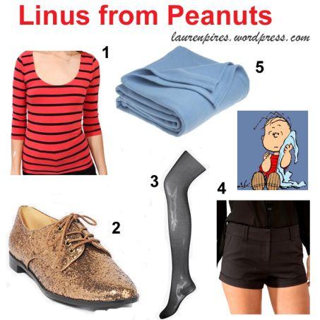 Linus Adult Halloween Costume - One Size - Walmart.com