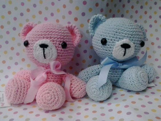 Resultado de imagen para muñecos para bebes crochet