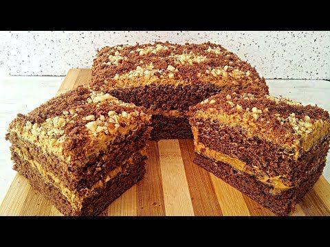 Asan Kakaolu Qozlu Tort Resepti Hər Kəsin Hazirlaya Biləcəyi Tort Kolay Pasta Tarifi Recept Torta Youtube Pastalar Pasta Tarifleri Pasta