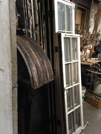 Antique window sets, 1 arched and two sides $250 http://washingtondc.craigslist.org/doc/atq/5083681795.html