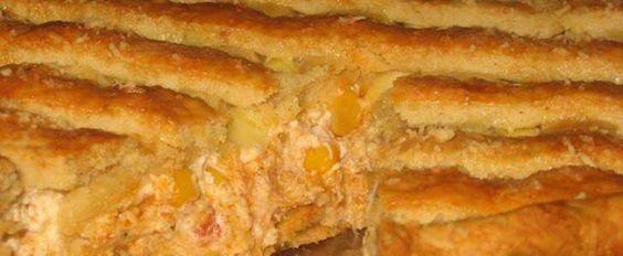 Receita de Torta de frango com cream cheese e milho | Show de Receitas