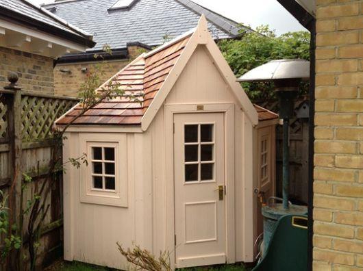 another corner shed backyard pinterest corner gardens and cheap storage - Corner Garden Sheds 8x8