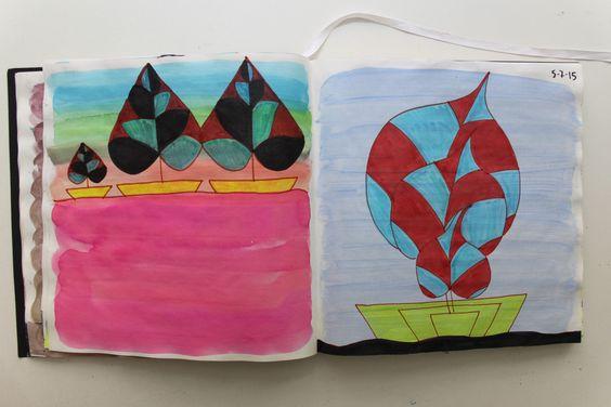 LAURA GUILLÉN 5-7-15 diario arte naturaleza mar sketchbook art nature sea