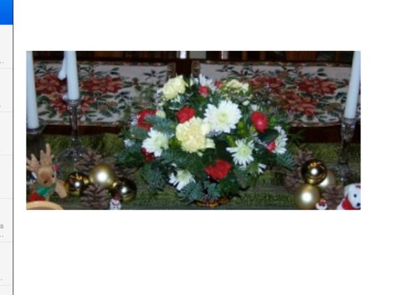 Christmas Centerpiece Arrangement Penfield, NY